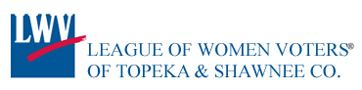 logo for the League of Women Voters of Topeka and Shawnee County